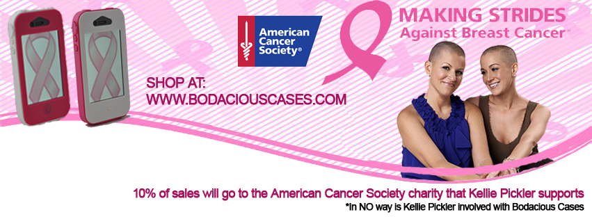 10% of proceeds to American Cancer Society