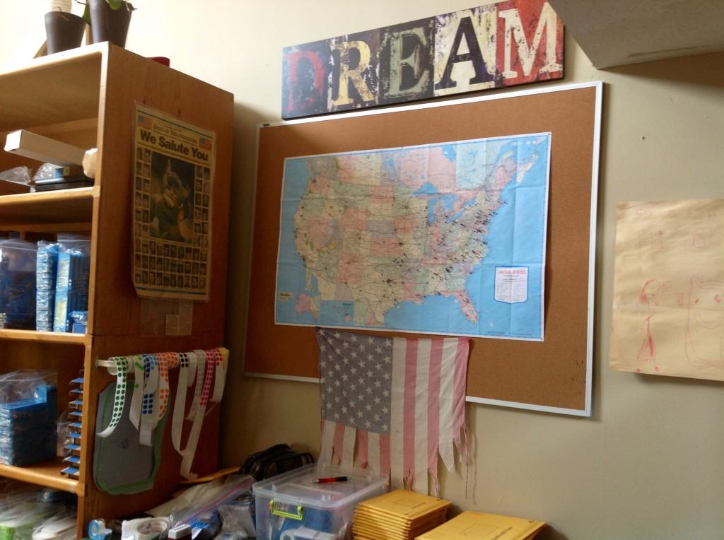 Bodacious Cases office flag