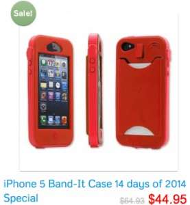 iPhone 5 Band-It Case