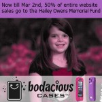 10 Days & 50% of iPhone cases to be donated