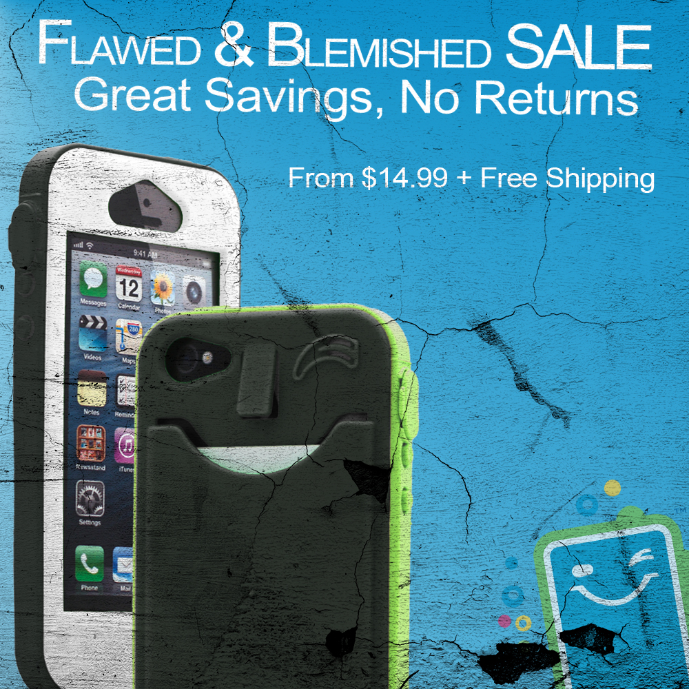 The Flawed & Blemished SALE